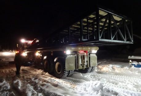loaded rig ramp