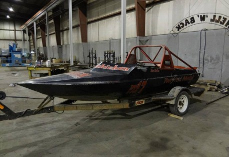 jet boat before