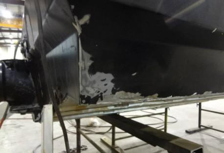 repairs below