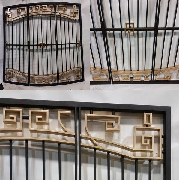 Custom Wrought Iron Window And Door Grills